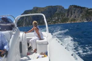 Ausflug im Boot