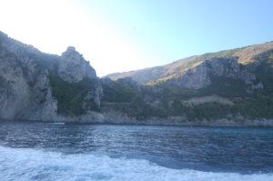 Badebucht bei der Baia di Jeranto