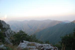 Blick vom Monte Faito, Vico Equense