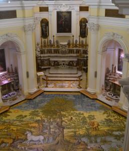 Die San Michele Kirche auf Anacapri