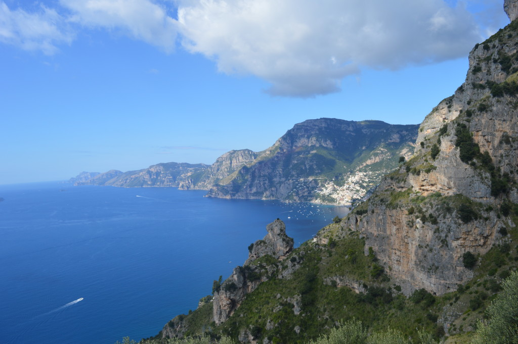 Die Amalfikueste bei Positano