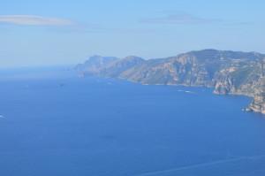Ausblick der Amalfikueste