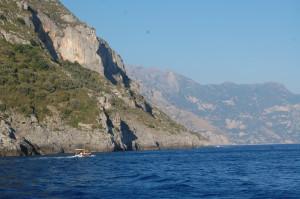 Die Amalfikueste kurz vor Marina del Cantone