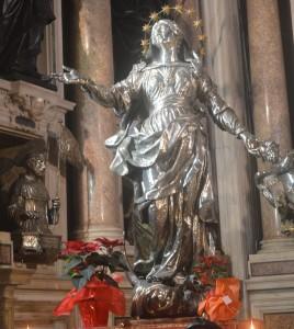 Silberskulptur aus dem Dom