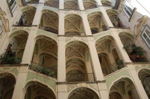 Der restaurierte Palazzo dello Spagnuolo