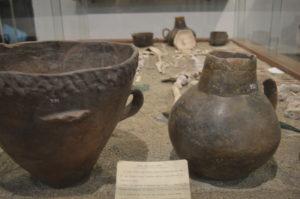 Gefundes Grab der Bronzezeit im Museum von Avellino