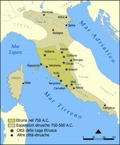 Die Etrusker in Italien